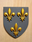 Reproduction Blason France sculpté