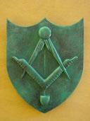 Blason Compagnons bronze