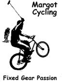 Logo Margot Cycling biciclette a scatto fisso e ruota libera