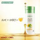 L'association miel et Aloe vera permet la création de nouvelles molécules qui renforcent les effets positifs de l'Aloe vera sur notre organisme