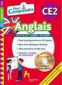 """Un livre avec CD intitulé """"Pour Comprendre L'Anglais"""", pour CE2 de Joanna Le May"""
