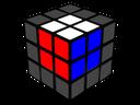 Primer bloque de 2x2x2 resuelto.