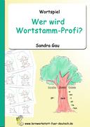 Wortstamm Wortfamilie, Wortstamm üben, Wortstamm Verben, Rechtschreibung, Lernwörter
