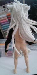 羊毛フェルト 小狐丸 とうらぶ 人形