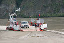 Fähre über den Yukon River nach Dawson City