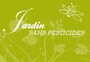 logo Jardin sans pesticides illustrant l'absence de traitement chimique dans Le Jardin de Dan