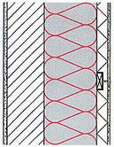 Wandaufbauten mit Einblasdämmung