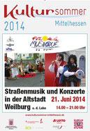 Plakat und Kultursommer Hessen