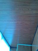 Отделка балкона  МДФ панелями на пену.