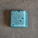 Cabujon turquesa escamas para creación de joyas