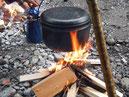 Wilde Küche, Outdoorkochen
