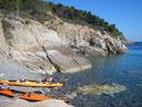 Insel Elba - mit Seekajak
