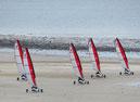 Séance à l'unité : char à voile, kayak, paddle, marche aquatique, trimaran