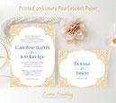 rustic style wedding invites