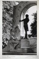Detail J.Strauss Denkmal Wien