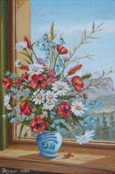 Feldblumen im Schmalztopf