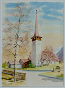 Kirche in Bönigen