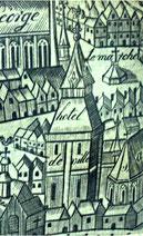 Plan Cordier, 1663, détail / BM, Fonds Macqueron
