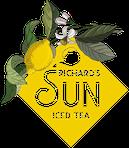Richards SUN Iced Tea logo gelb Kölsch & Weingarten