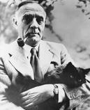 Edwin Hubble astronome fume la pipe mais pas une Louis Vuitton