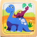 Dinosaures - 3 pièces