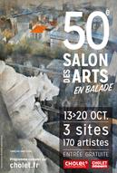 Invitée d'Honneur peinture au 50ème Salon des Arts de Cholet - 2019