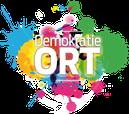 Demokratie Ort Logo Jugendbeteiligung Politische Bildung Kommunalpolitik Planspiel