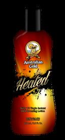 Heated Iconic Australian Gold Zonnebank creme bronzer zoncosmetica DHA cosmetisch natuurlijk tingle