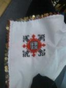 舞台衣装の刺繍の一部
