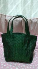 畳縁たたみべりバッグ 和古典柄
