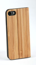 iPhone wooden flip case bamboo