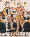 Couple - Tarot de Jean Noblet