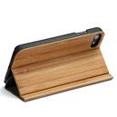 Iphone 7 Fliphülle Holz stehend