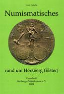 """Umschlag der Festschrift """"Numismatisches rund um Herzebrg (Elster)"""""""