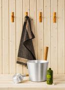 Saunazubehör, Kübel und Kelle, Saunatextilien, Saunadüfte jetzt online kaufen