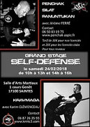 Stage self-défense Saintes