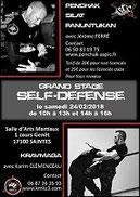Stage self-défense Saintes