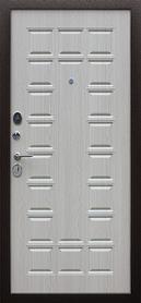 входная дверь стандарт миланский орех