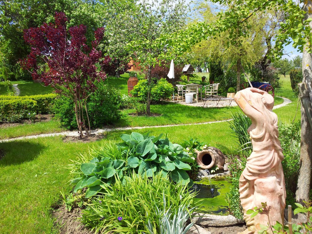 Garten von Beatrix und Werner Riggenbach