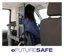 eFutureSafe head and backrest for wheelchair users