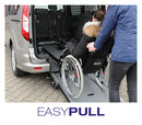 EasyPull winch & front restraint system for wheelchair users