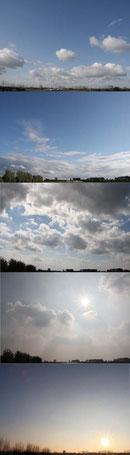 lucht van week tot week       40 x 140 cm