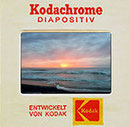 Gerahmtes Kodachrome Dia in Pappe