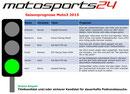 Grüne Ampel Moto3