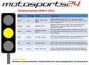 Gelbe Ampel Moto3