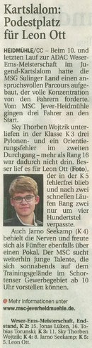 Wilhelmshavener Zeitung 06.09.2017