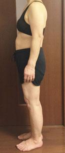 DNAパーソナル痩身を体験される60代女性