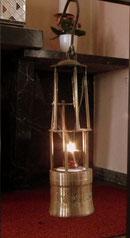 st hubertus, ewiges licht, grubenlampe