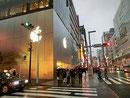 Appleの銀座店