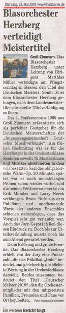 Harzkurier, 22.05.2018